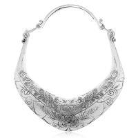 Mode-Halskette, Zinklegierung, plattiert, für Frau, keine, frei von Nickel, Blei & Kadmium, 205x165x130mm, verkauft von Strang