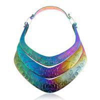 Mode-Halskette, Zinklegierung, plattiert, unisex, keine, frei von Nickel, Blei & Kadmium, verkauft von Strang