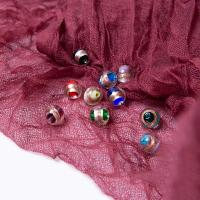 Goldsand Lampwork Perlen, Einbrennlack, DIY, keine, 12x12mm, 50PCs/Tasche, verkauft von Tasche