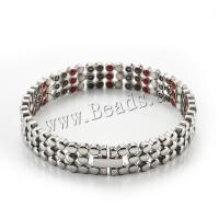Herren-Armband & Bangle, Titanstahl, plattiert, für den Menschen, keine, 215x12mm, Länge:ca. 8.46 ZollInch, verkauft von PC