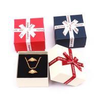 Schmuck Geschenkkarton, Papier, Quadrat, keine, 70x70x45mm, verkauft von PC